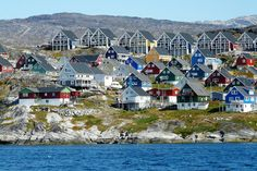 Greenland ( Kalaallit Nunaat). A voyage to Greenland - the autonomous country within the Kingdom of Denmark, Europe.