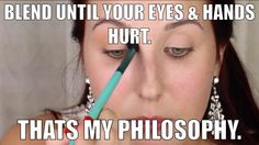 Kudos to me for creating this Jaclyn Hill makeup humor meme. LOL