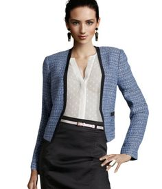 got this blazer & skirt at H the other day!