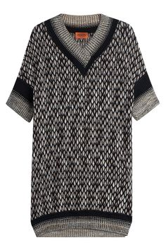 Missoni - Knitted Silk Jumper Dress with Metallic Thread