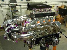 (Hi-Tech Twin Turbo V8)