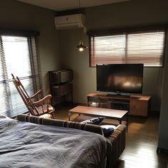 Small Room Interior, Interior Design Living Room, Living Room Decor, Living Spaces, Bedroom Decor, Studio Apartment Living, Apartment Design, Home Room Design, Tiny House Design