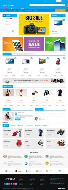 SW Atom is a clean coded Responsive Multipurpose #eCommerce WordPress Theme with an elegant design. It focuses on user experience and usability with 3 homepage layouts and unlimited variations. #website