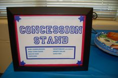 basketball baby shower centerpieces   My dad planned a great menu to go with the All-Star theme, a ...