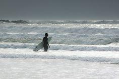 Surfeur, Siouville Hague, Normandie