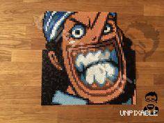 One Piece Mugshot #0004 Usopp Pixel Art  Schedule of One Piece Pixel Art:  [x] Ruffy [x] Zorro [x] Nami [x] Lysop (12.09) [ ] Sanji (19.09) [ ] Robin (26.09) [ ] Chopper (03.10) [ ] Franky (10.10) [ ] Brook (17.10)