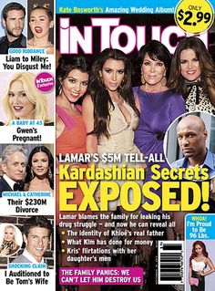 Lamar Odom Ready to Reveal All the Kardashian Families Dirty Little Secrets