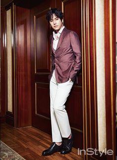Super Junior Kyu Hyun - InStyle Magazine May Issue '15. Noona's favorite...