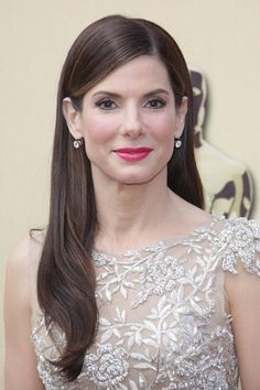 Top 10 Celebrity Long Hairstyles of 2010. Love Sandra Bullock.