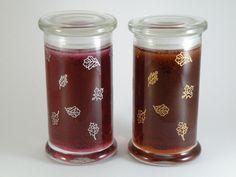 Diamond Candles jar decor idea!    #diamondcandles and #harvestcontest2012