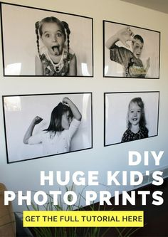 DIY Huge Engineer Prints. These oversize statement art prints are less than $5 each to print! Get the FULL DIY HERE and add a huge impact to your home decor for less cash.