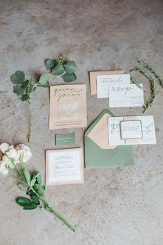 wedding invitation idea; photo: Conforti Photography