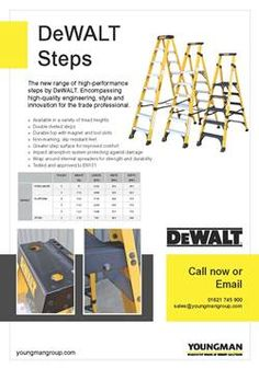 DeWalt Steps from Youngman Group