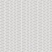 Assymetrical Herringbone / Warm Gray - mjdesigns - Spoonflower