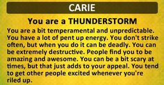 Find out What Kind of Storm Are You!