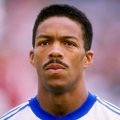 Desmond Armstrong - The first American born Black player to represent the US at a World Cup...I got to meet him when I was 9