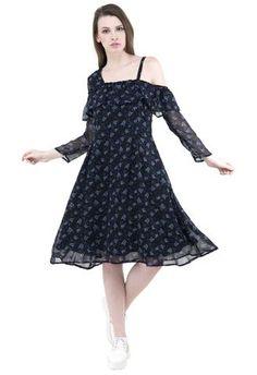 0a2337f5afc Off Shoulder Dresses - Buy Off Shoulder Dresses Online in India at Bes