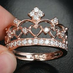 Princess ring: i am in love with this style