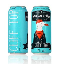 Modern Packaging Design Examples for Inspiration - William Street Beer Co.