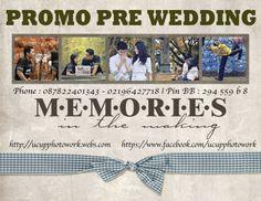 PROMO PRE WEDDING MURAH JAKARTA 087822401343