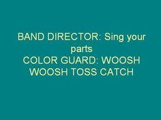 Color Guard Spin Dance Perform #colorguard