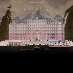 The Grand Budapest Hotel - A Film by Wes Anderson - Coming 2014