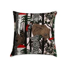 Veljekset Kissenbezug von Marimekko in Mehrfarbig (Herbst 2017) Marimekko, Design Shop, Shops, Throw Pillows, Nice Things, Bedding, Textiles, Deko, Nice Asses