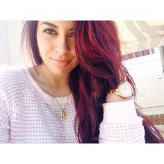 Magenta hair with Loreal HiColor Plum Red Hair, Magenta Hair, Hair Color And Cut, Cool Hair Color, Hair Colors, Beautiful Hair Color, Velvet Hair, Coloured Hair, Auburn Hair