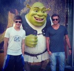 Liam, Andy and Shrek. The fab With All My Heart, Love Of My Life, Hottest Guy Ever, The Girlfriends, James Horan, Harry Edward Styles, Great Bands, Daughter Love, Liam Payne