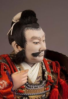 Musha Ningyo of the warrior Honda Tadakatsu- Antique Japanese Dolls