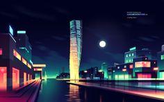 I like architecture on Behance