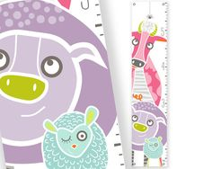 Growth Chart I'm getting Violet for her birthday.