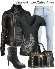 I found 'Harley Outfit' on Wish, check it out!
