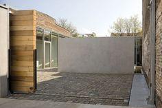 schiebepforte holz moderne wohnung umbau #Hausbau #Garage #Pflastersteine #Büro