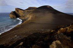 Vulcanismo Vulcão dos Capelinhos Volcano, Island Faial, Azores, Portugal