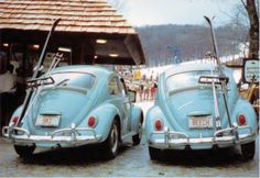 vintage VW - Beech Mountain, N.C. #Skiing -- Find articles on adventure travel, outdoor pursuits, and extreme sports at http://adventurebods.com