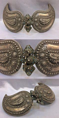 Antique Ottoman Silver Belt Buckle |