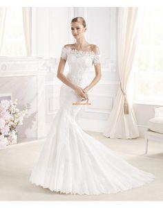 Traîne moyenne Bonnet Empire Robes de mariée 2015
