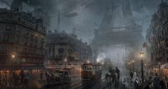 The Order 1886- Paris, Atomhawk Design on ArtStation at https://www.artstation.com/artwork/G8gwd