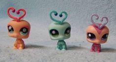 Littlest Pet Shop LPS Lovebugs Love Bugs Lot 3 #Hasbro