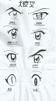 Eyes from the anime Inuyasha! Sesshomaru Y Rin, Kagome And Inuyasha, Inuyasha Funny, Miroku, Kagome Higurashi, Drawing Tips, Manga Drawing, Anime Rules, Anime Sketch