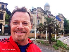 Eddie Izzard's photo: Out running in Cardiff Bay, just down from Penarth