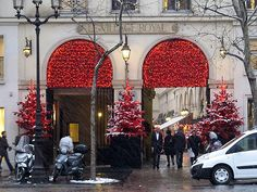 Paris in Winter, Place de la Madeleine