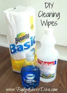 Make Your Own Cleaning Wipes!!! So Cool !