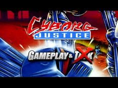 Cyborg Justice gameplay for the Sega Genesis