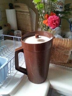 Tupperware juice jug I wish these were still around.