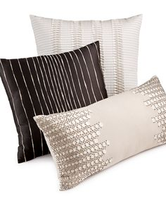 Hotel Collection Emblem Decorative Pillow Collection - Decorative Pillows - Bed & Bath - Macy's