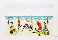 Capoeira na Praia  - Hector Bernabó Carybé