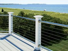 Atlantis Rail - Cable Railing, Cable Rail, Cable Railings, Stainless Steel Cable, Stainless Cable, Deck Railings