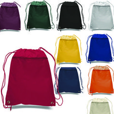 e8194293e7cb Economic Polyester Sport Drawstring Bag. Drawstring BackpackCotton ...